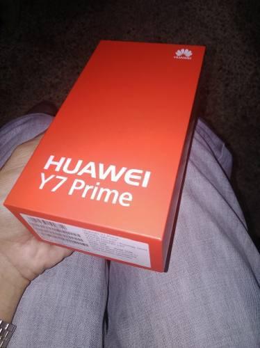 Huawei Y7 Prime Dúo 3gb Ram 32 Gb Internos Huella Dactilar