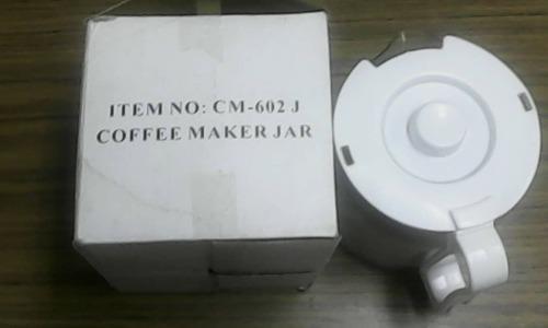 Jarra Cafetera Eléct.universal (coffee Maker Jar) Cm-602 J.