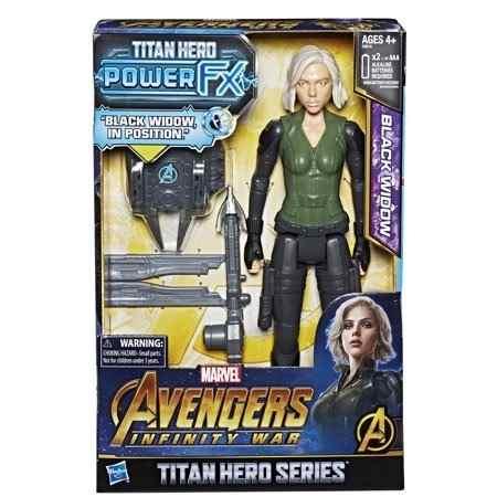 Marvel Avengers: Infinity War Titan Hero Power Fx Viuda Negr