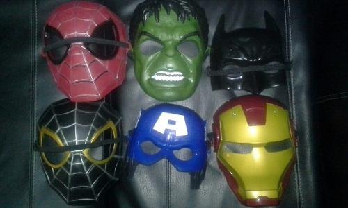 Mascaras De Los Avengers Capitan America, Iroman,hulk,spider