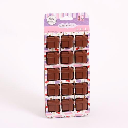 Molde De Silicón Para Bombón Chocolate Cajas De Regalo