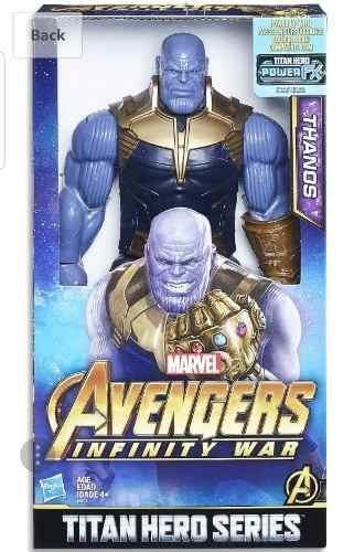 Muñeco Thanos Avengers Infinity War Marvel 30 Cm. Hasbro
