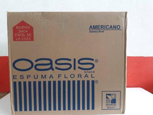 Oasis Espuma Floral Marca Americano::::oferta Por Cajas::::