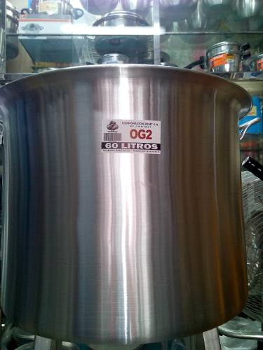 Olla Mondonguera Zenit Aluminio Fuerte 60 Litros