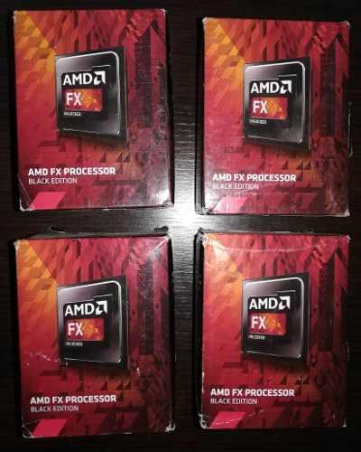 Procesador Amd Fx  Black Edition. 3.8 Ghz 8 Mb
