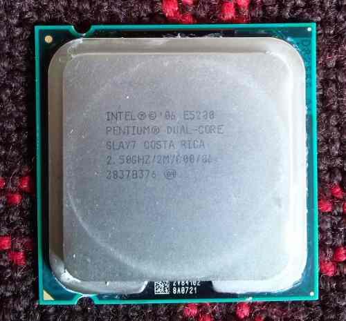 Procesador Dual Core Intel E En Perfectas Condiciones
