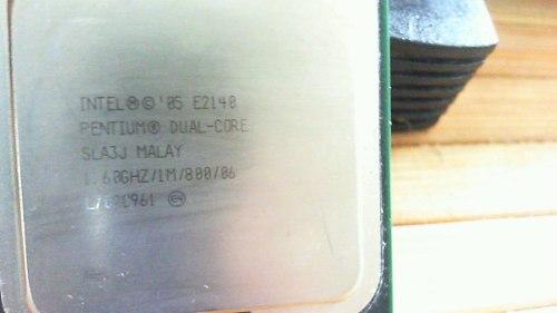Procesador Intel Dual Core E Ghz Socket 775