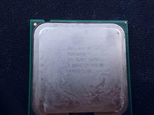 Procesador Intel Pentium D Pentium 4