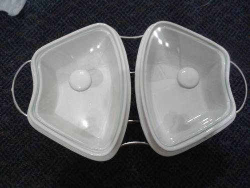 Refractaria De Cocina De Ceramica Con Soporte De Metal