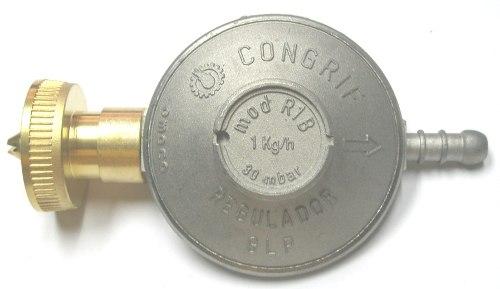Regulador Gas Bombona Clip On 10 Kg Marca Congrif