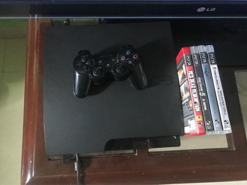 Sony Ps3 Playstation 3 160gb 1 Control Mas Juegos 150verde
