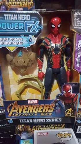 Spiderman Interac Avengers Infinity War Marvel Con Mochila