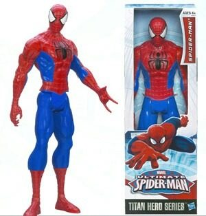 Spiderman Marvel Ultimate Original De Hasbro 30 Cm