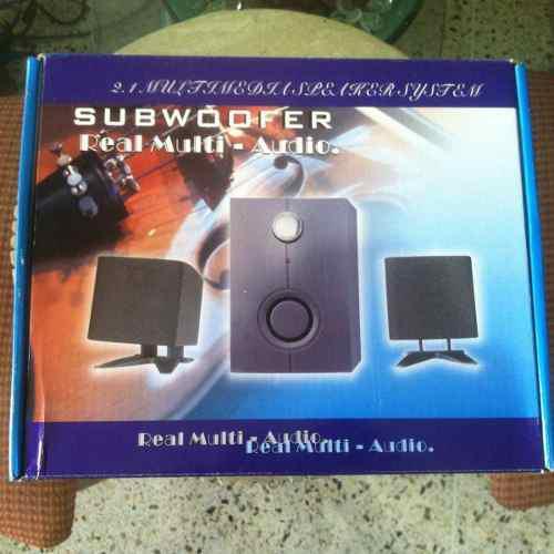 Subwoofer Real Multi Audio 2.1
