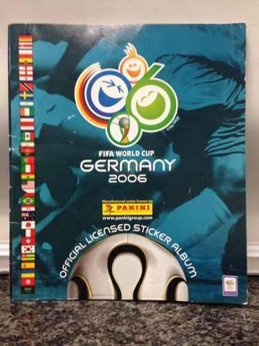 Album Panini Vacío Del Mundial De Fútbol Alemania