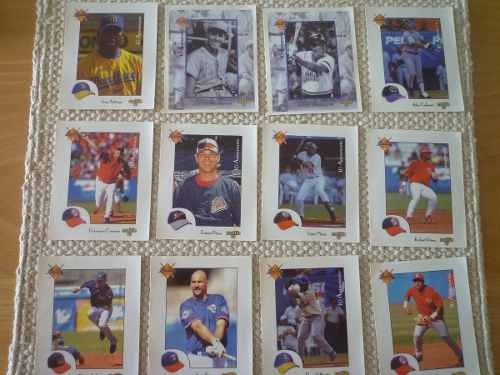 Barajitas Del Album Oficial De Baseball Temporada