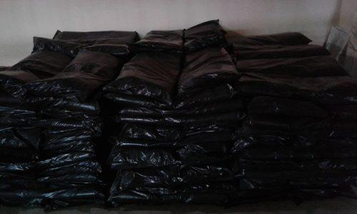 Bolsas Negras Para Basura En 40 Kilos Calibre 10 De 12 Unid