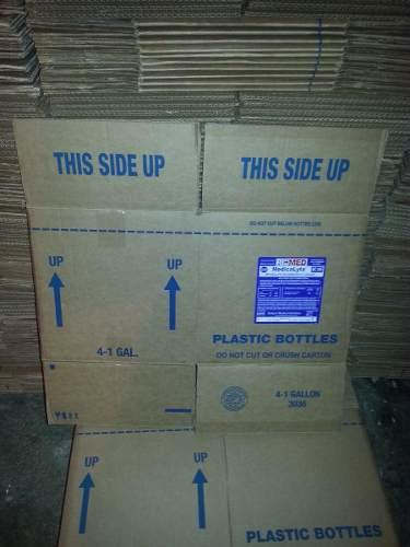 Cajas De Cartón Para Envases De Galón Usadas