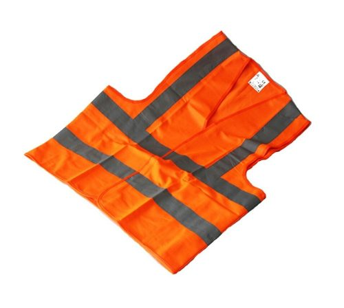 Chaleco De Seguridad Vial Color Naranja