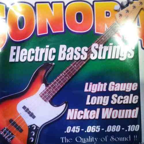 Cuerdas Para Bajo Electrico 4 (made In Usa,set De 4)