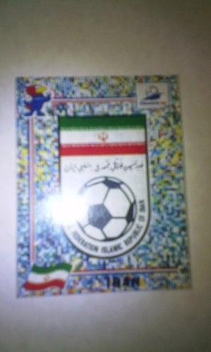 Escudo 417 Irán Del Álbum Mundial Fútbol Francia 98