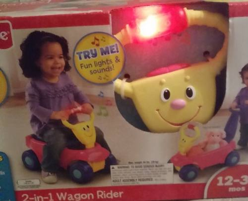 Fisher - Price 2 En 1 Infant Wagon Rider