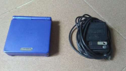 Nintendo Game Boy Advance Sp (reparar) Con Estuche Y Juegos