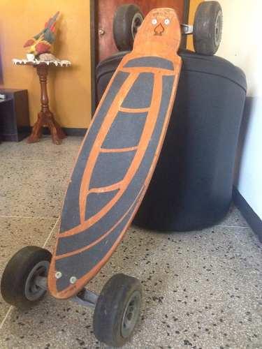 Patineta, Skateboard Carveboard-(natural) 43