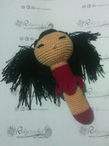 Sonajero Tejido A Crochet