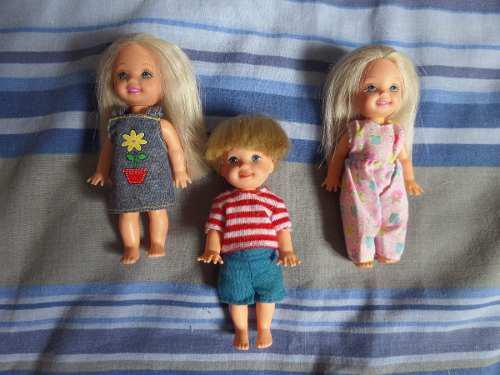 Barbie Kelly-tommy-bebes Original De La Mattel