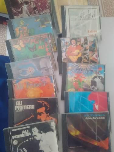 Cd, Musica Ali Primera