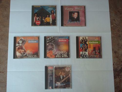 Cd Musica Moderna Originales De Los  Y 90