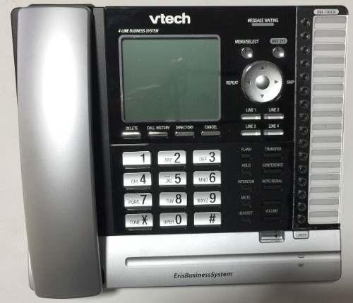Central Telefonica Telefono Vtech Pantalla Inteligente 4 Lin