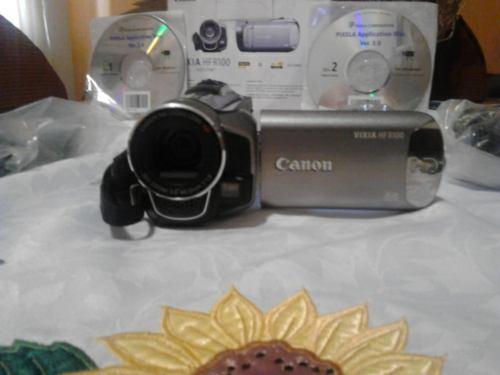 Cámara De Video Vixia Hf R100 Hd. La Mejor Inversión...