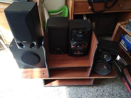 Equipo De Sonido Lg Pmpo  W Rms 120 W