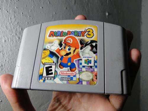 Juego Nintendo64 Mario Party 3 Venta/cambio Lea Descripción