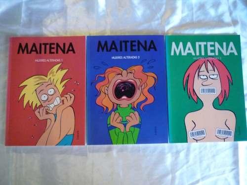 Libro. Maitena Mujeres Alteradas 1, 2 Y 3