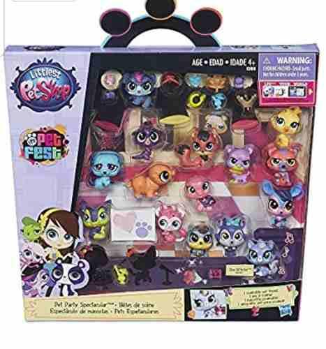 Littlest Petshop Pack Fiesta De Mascotas. Original Hasbro