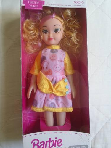 Muñeca Barbie Para Niñas Juguete Fashion