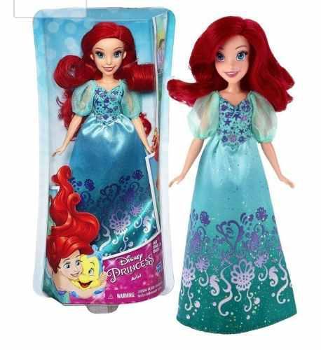 Muñecas Princesas Disney Ariel Original Hasbro 30 Cm