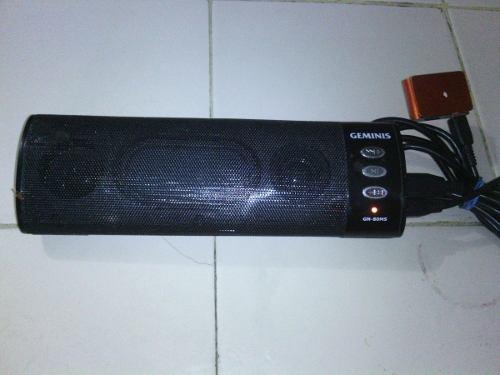 Reproductor De Sonido O Corneta Portatil Marca Geminis Usado