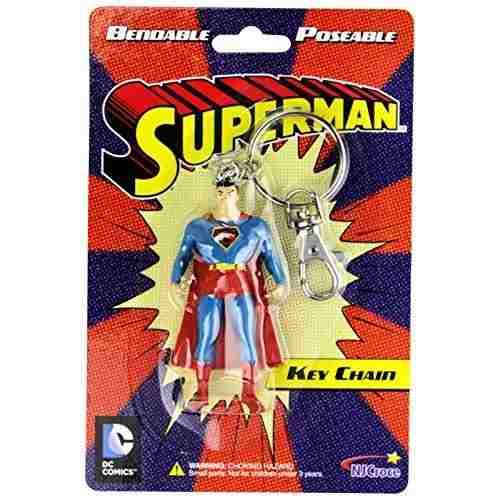 Superman, Llavero Vintage, De Coleccion.