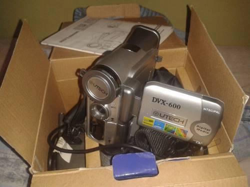 Vídeo Camara Digital Dvx-600 Utech Perfecta Casi Nueva