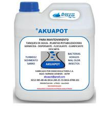Akuapot para mantenimiento de tanques de agua potable