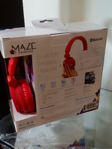 Audífonos Maze Manos Libres Bluetooth Nuevos