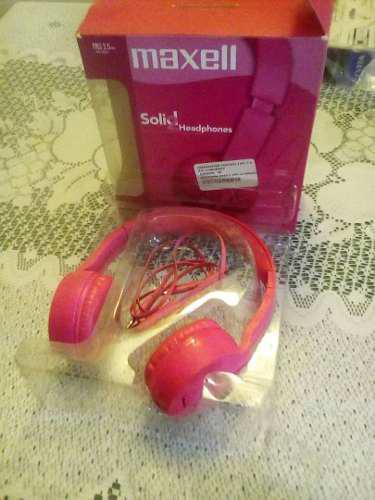 Audifonos Maxell Manos Libres Solid 2