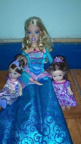 Barbie La Princesa De La Isla Y Princesitas