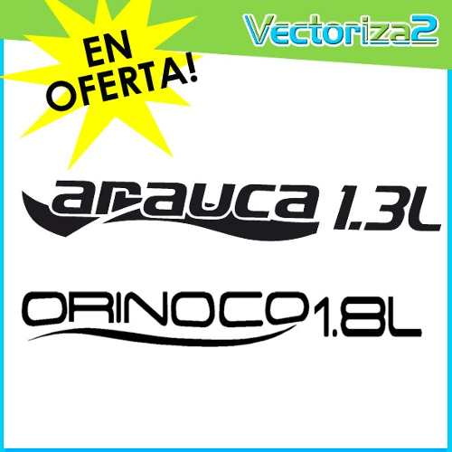 Calcomania Chery Arauca 1.3 Y Orinoco 1.8 Solo Envio Tealca