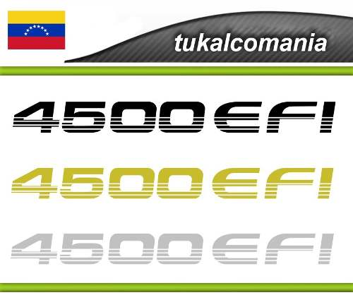Calcomania  Efi Toyota Machito Kit Completo