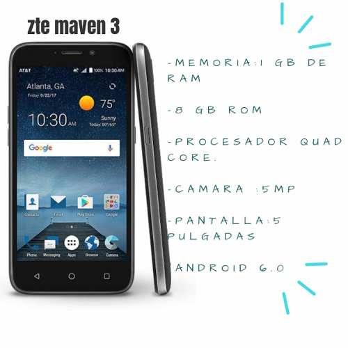 Celular Zte Maven 3.zonacellmj